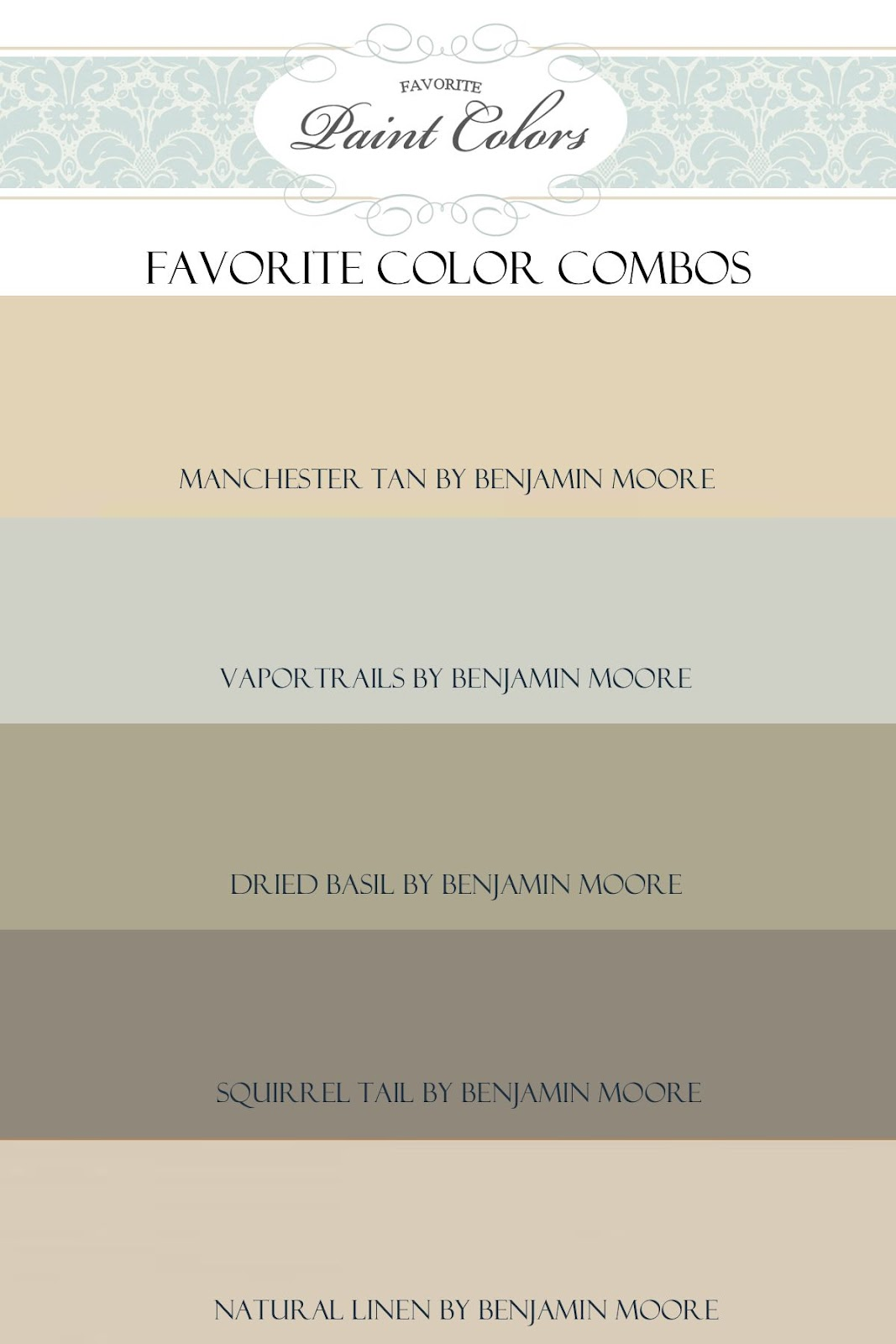 Favorite Paint Colors