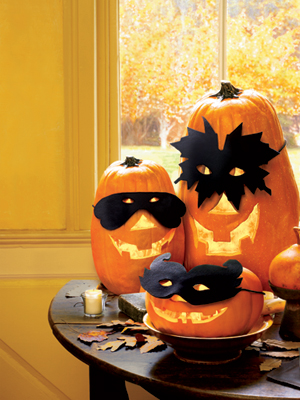 Pumpkin Mask Templates – super cute!