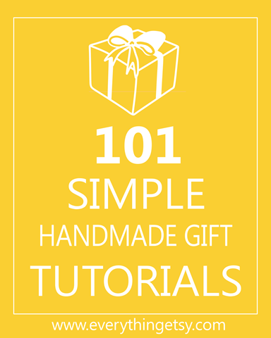 101 Great Handmade Gifts via @EverythingEtsy