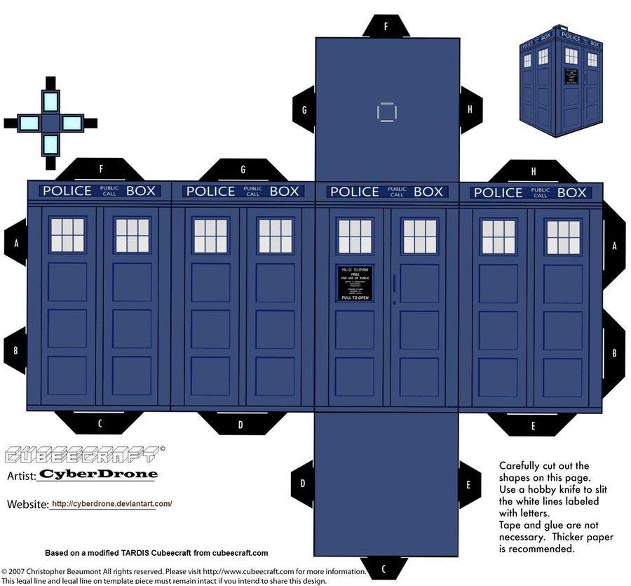Make the TARDIS
