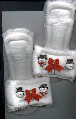 I am making these as a hilarious gift for a white elephant gift exchange! slippe