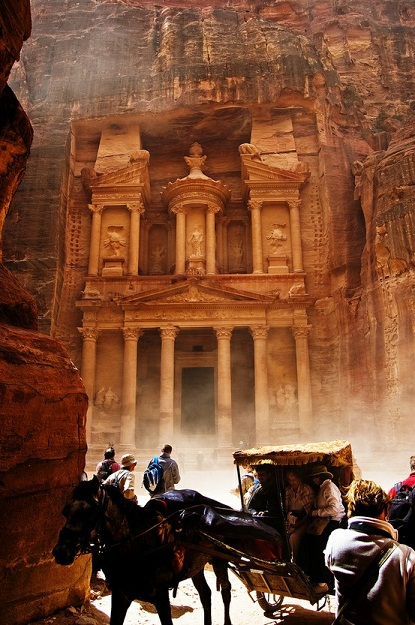 ' The Lost City' in Jordan- Petra, a World Heritage Site as well as one