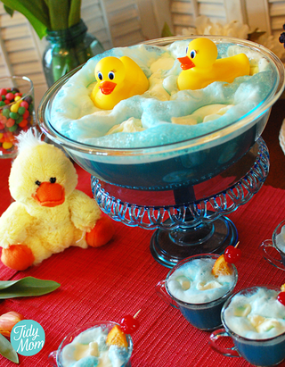 DIY Ducky Punch [Baby Shower Ideas]