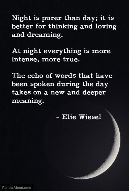 Elie Wiesel – Night. Such a powerful and haunting memoir