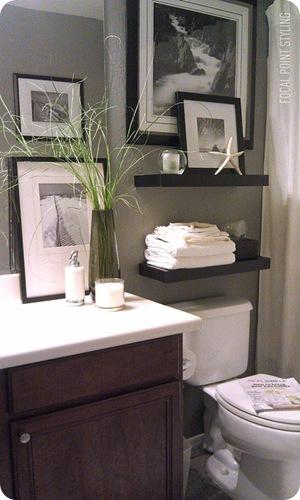 Decor ideas for small bathrooms