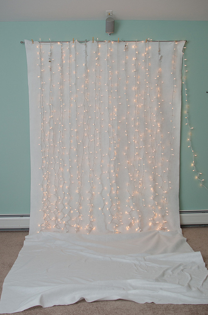lighted background for photobooth