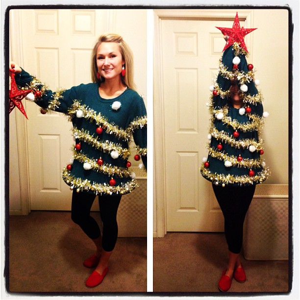 I went to my first Ugly Sweater Christmas party this year Dec. 15, 2012 and had