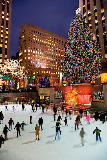 I dream of going ice skating at Rockefeller Center.