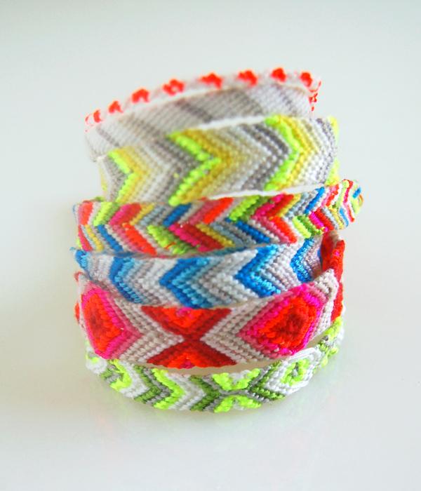 Friendship Bracelets – the purl bee  Macraméd friendship bracelets were all