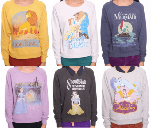 disney sweat shirts at forever 21…