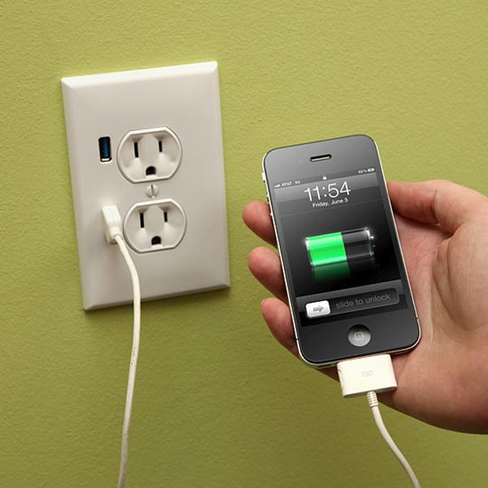 I had no idea!! – Upgrade a Wall Outlet to USB Functionality – You can get one a