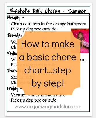 Get your kids organized! Page FULL of kids schedules and chore charts, including