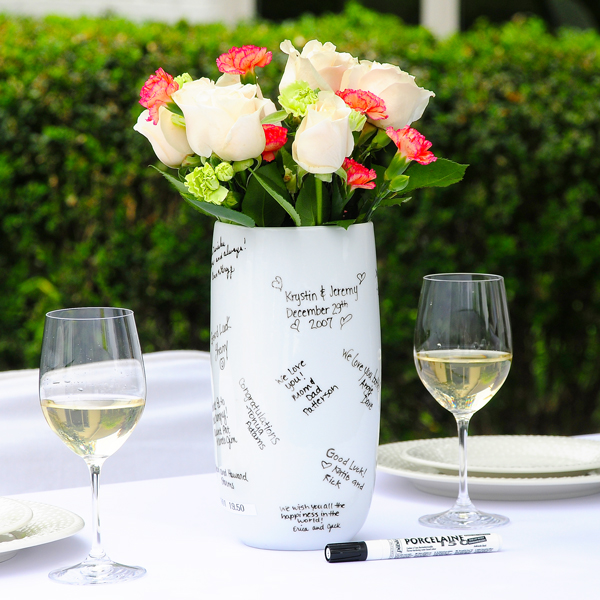 Signature – I love this vase I want to get this for my bridal shower.