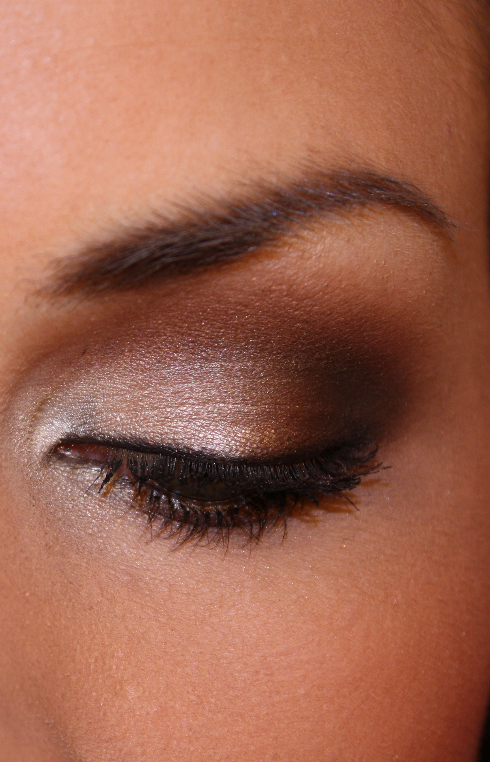 The brown smokey eye tutorials.