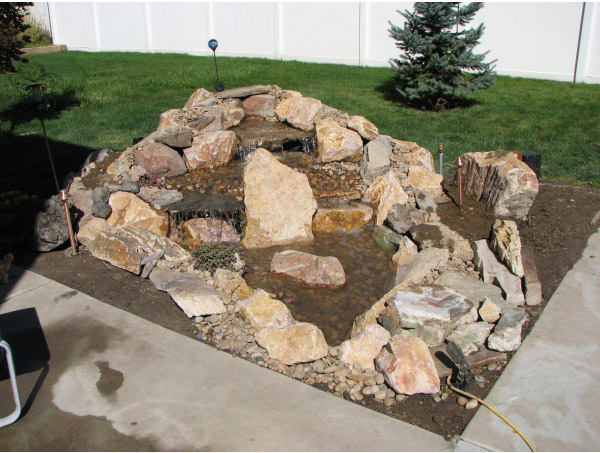 Water Garden Pondless Waterfall