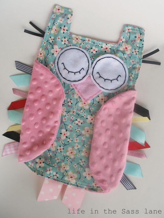 Hush little hoot owl (baby craft)