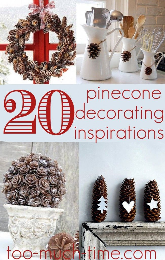 20 pine cone decorating ideas-not just for fall and Christmas