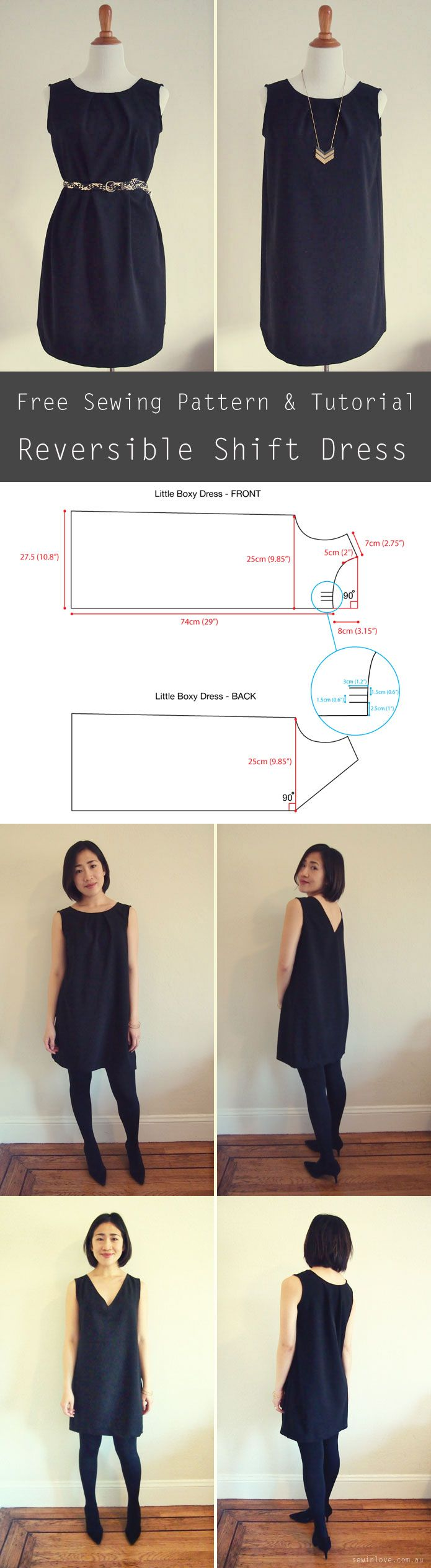 How sew dress