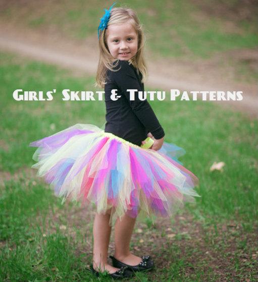 Girls' Skirt & Tutu Patterns