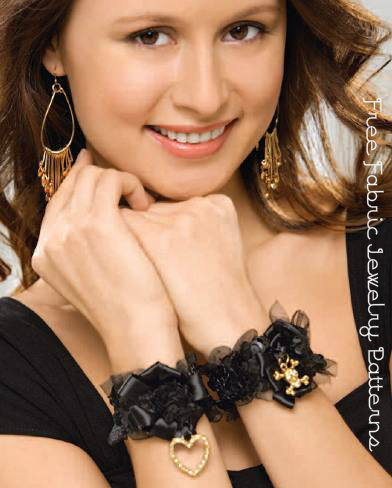 Free Fabric Jewelry Patterns