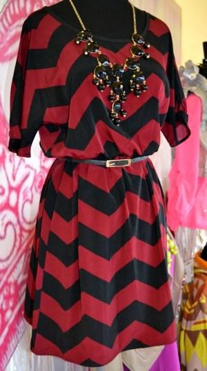 Aggieland Chevron Dress – Southern Jewlz Online Store #southernjewlz #fashion