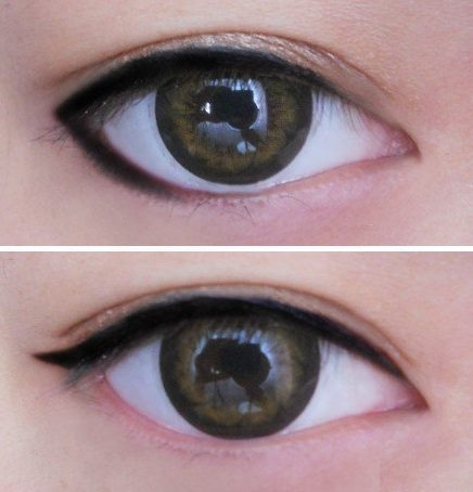 Eyeliner – Different ways – Collection