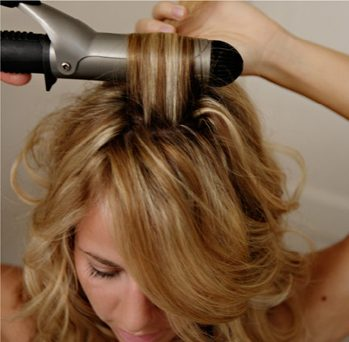 How to curl hair the right way