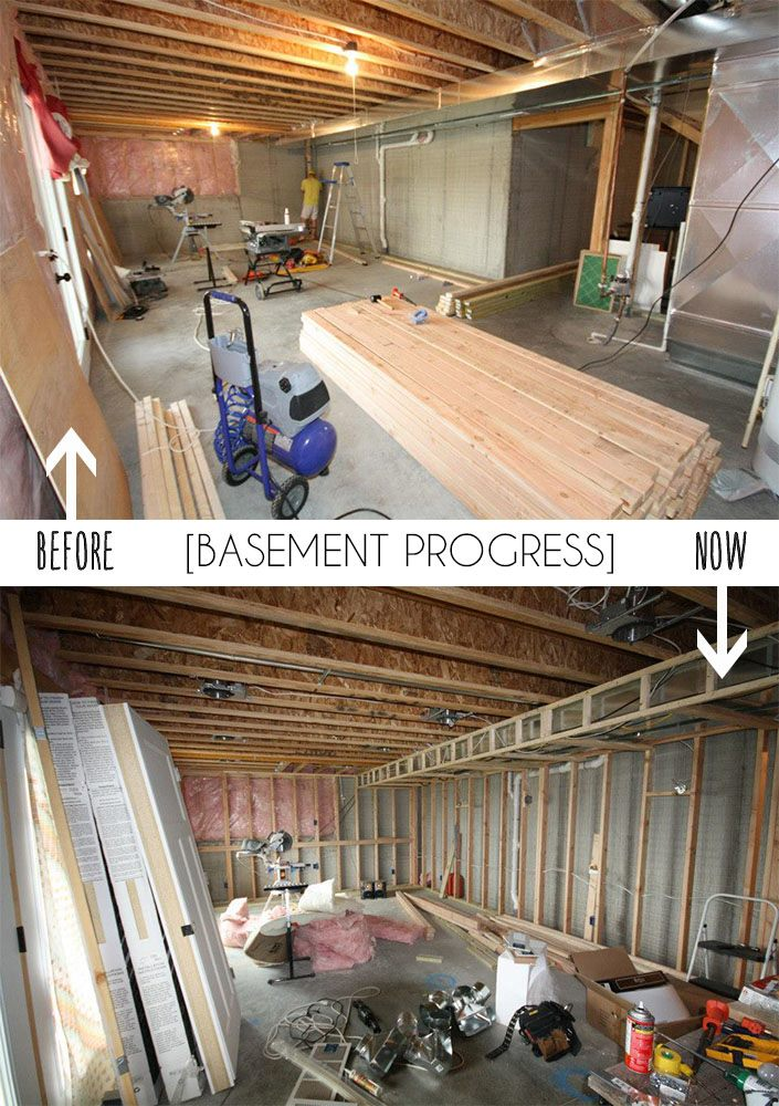 DIY finishing a basement