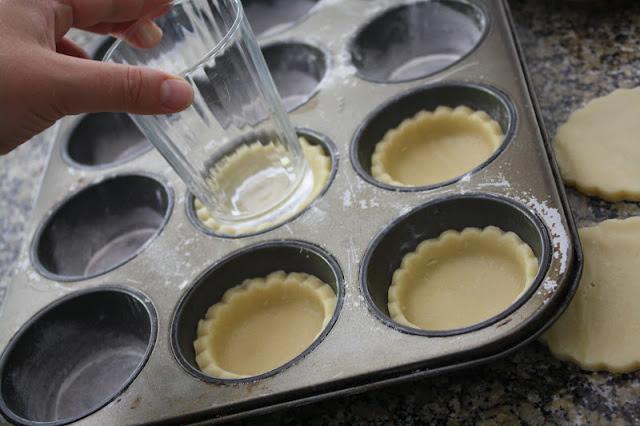 Make little tarts