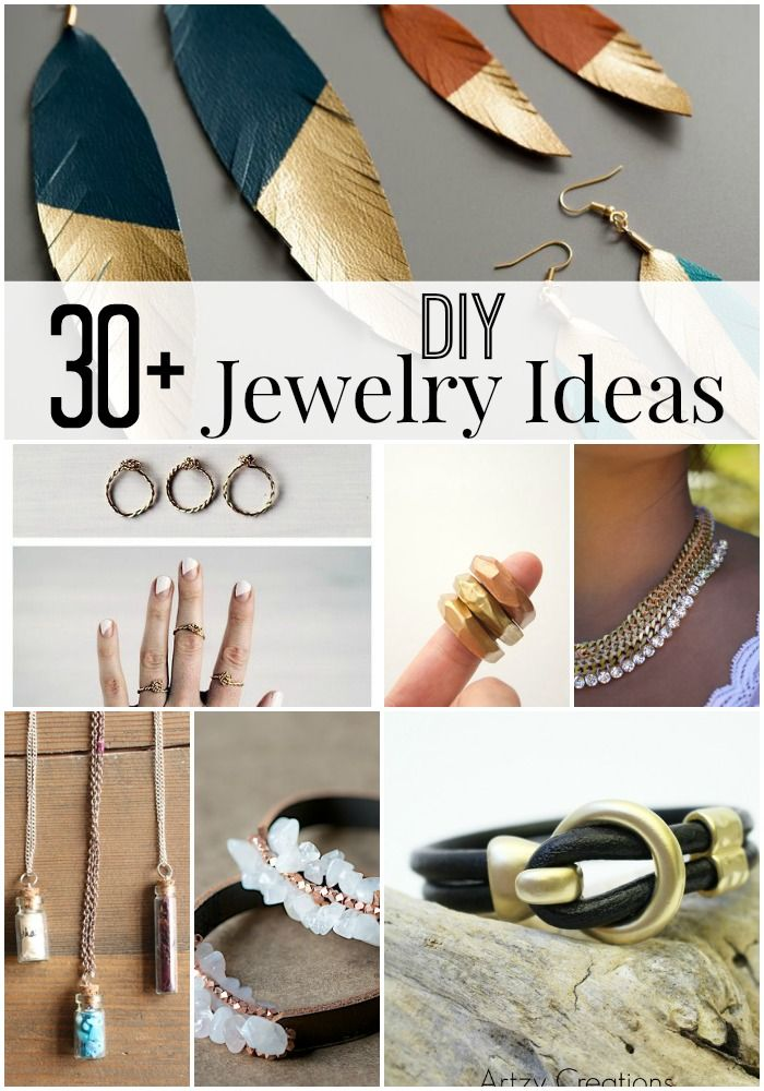 Awesome 30+ DIY Jewelry Ideas