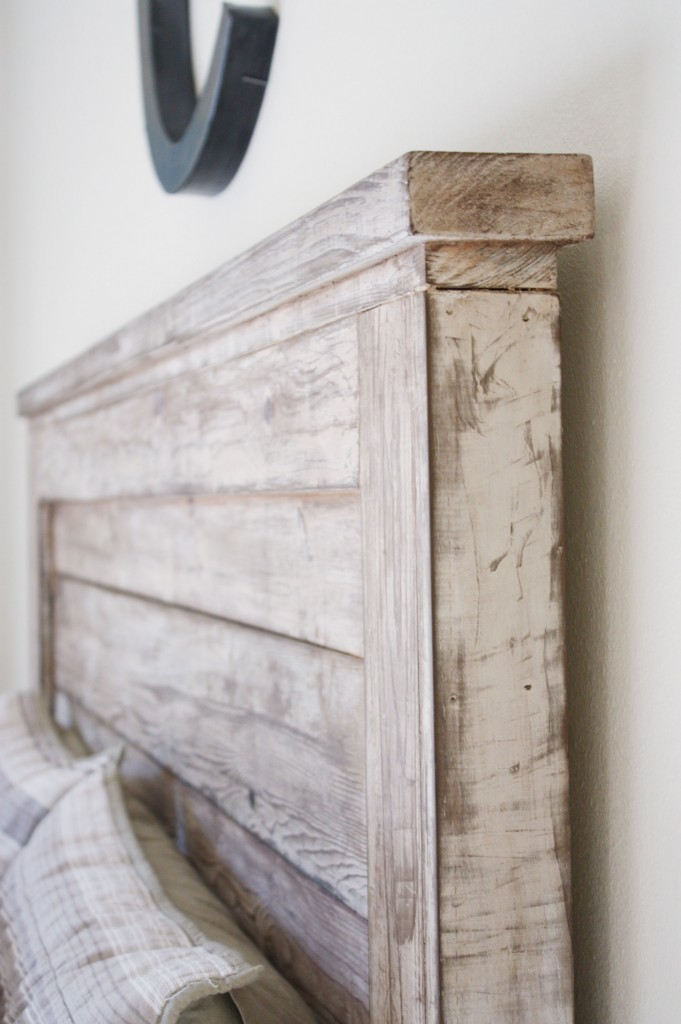 Rustic Headboard for 35 dollars.