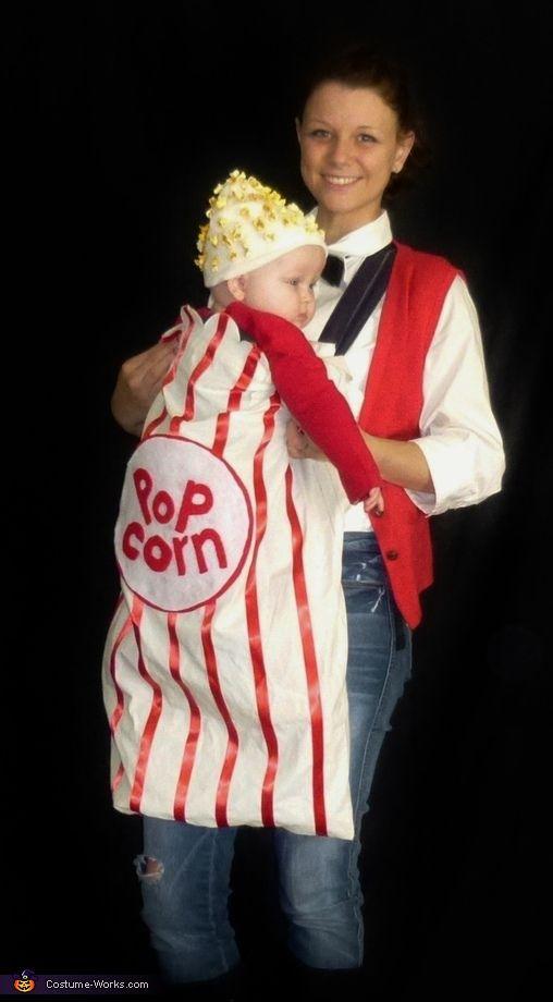 Popcorn baby halloween costume