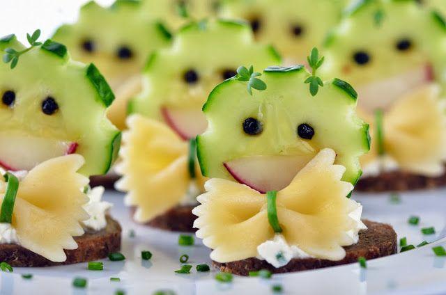 cute kid food