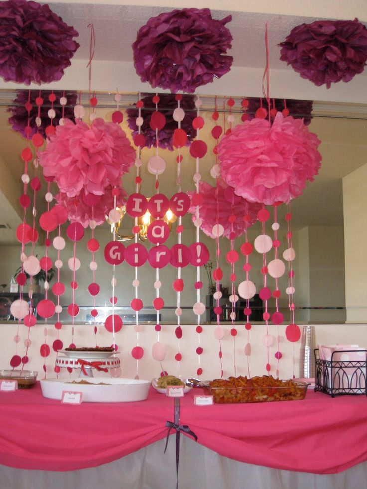 girl baby shower themes – Bing Images