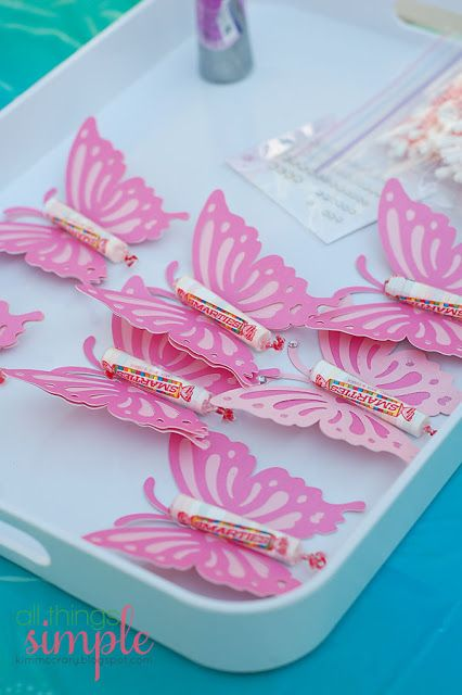 Fairy Princess Birthday Party Favors–Butterflies