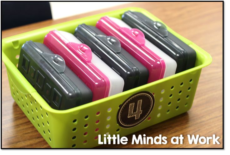 Great ideas for organizing classroom supplies