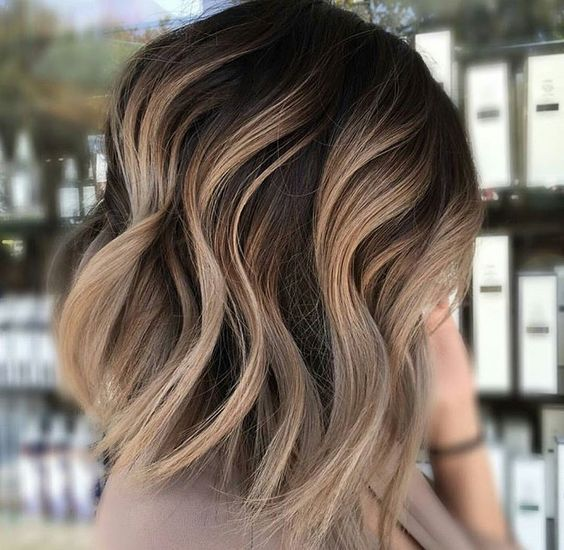 Short Hair Balayage Ombre