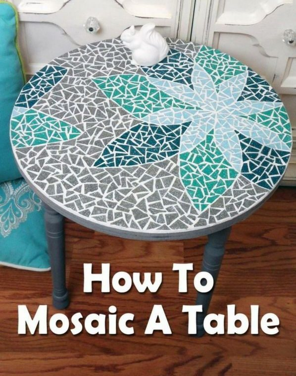 How to create a DIY tabletop mosaic