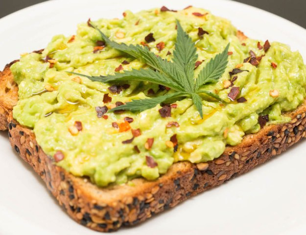 Marijuana Avocado Toast Recipe - Weed Edible Recipes