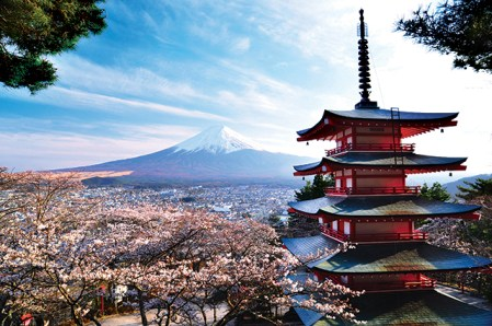 Mount-Fuji-Tokyo-Japan-Cherry-Blossoms[1]