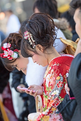 """Japanese Coming-of-Age Ceremony """"Seijin-shiki"""""""