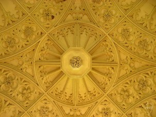 The Eagle Gateway ceiling at St John's Cambridge.
