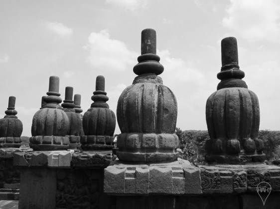 Carvings and reliefs are also plentiful around Prambanan, a masterpiece of Javanese classical architecture.
