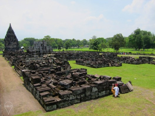 Earthquakes have been damaging the temples for centuries.