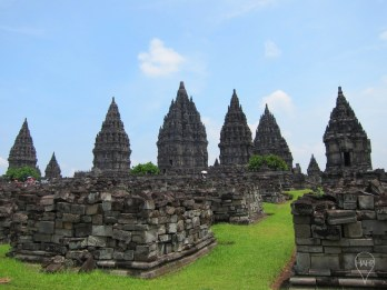 Prambanan is associated with the legend of Rara Jonggrang, who is said to have asked her suitor to built 1,000 temples. Upon tricking him, he turned her into stone as the 1,000th temple.