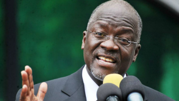 Tanzania's President, John Pombe Magufuli