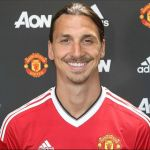 Ibrahimovic in man united uniform