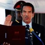 President Khama Of Botswana
