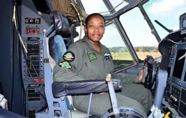 Nandi Zama The First Black Woman Commander