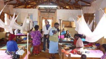 people suffering from malaria